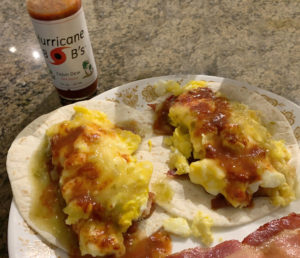 Hot Sauce with Eggs